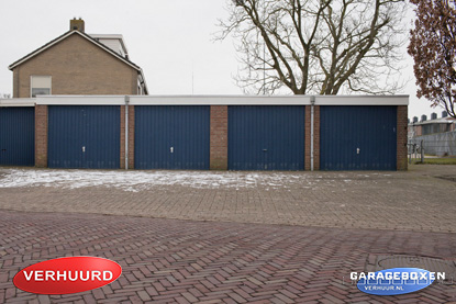 garagebox Burgemeester Visserweg IJsselmuiden